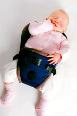 The Multi Award Winning Bushbaby Cocoon Front Baby Carrier