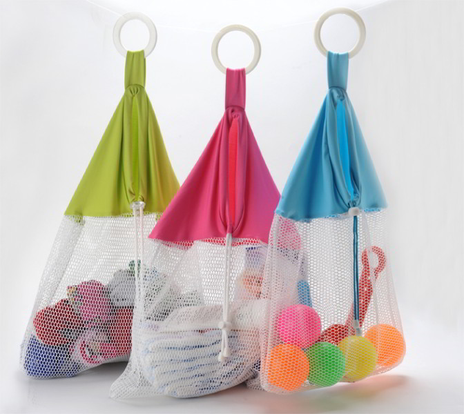 Bag Of Toys : Net bag toy organizer storage babyanywhere