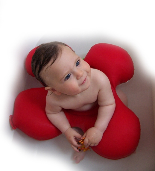 New Papillon Baby Babies Bath Tub Ring Chair Seat Seats