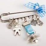 Baby Evil Eye Charm Safety Diaper Pin