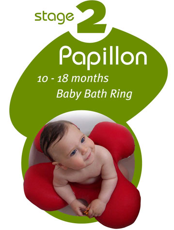 papillon baby bath ring 10 18 months babyanywhere. Black Bedroom Furniture Sets. Home Design Ideas