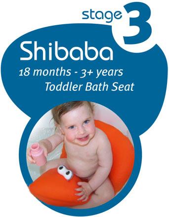 Shibaba Baby Bath Seat (18 months - 3+ years)