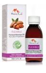Flexible 100% pure organic perineal massage oil